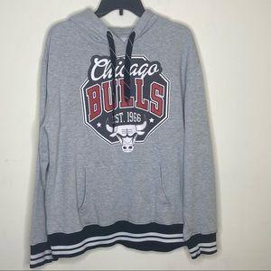 NBA Chicago Bulls Men's Pullover Hoodie